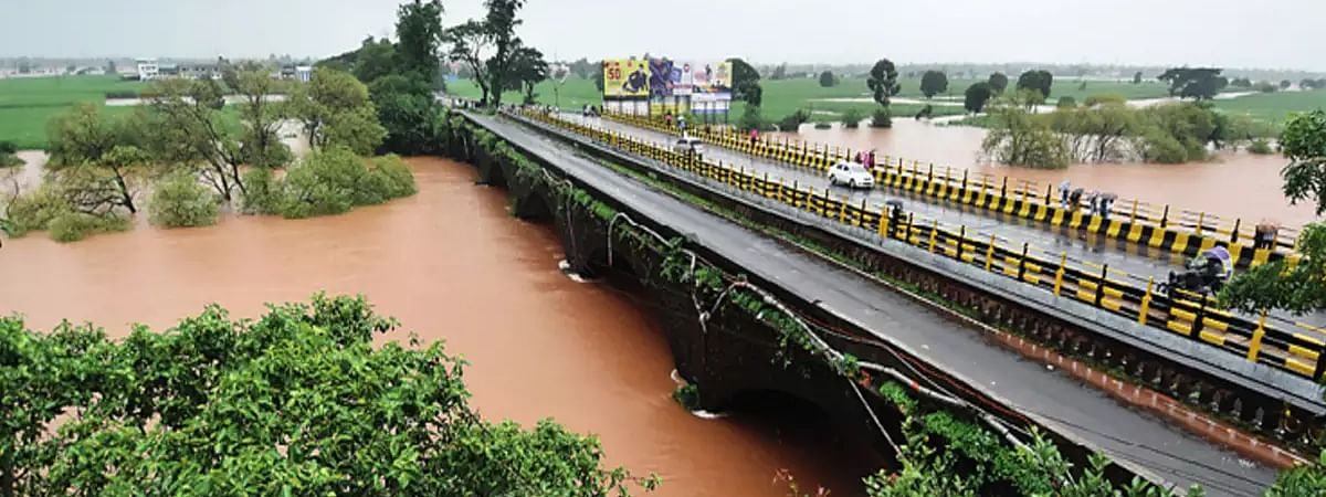Panchaganga river in spate, NDRF team called