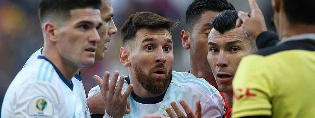 Argentina forward Messi banned from int'l football for 3 months