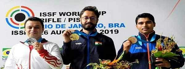 Abhishek clinches gold, Sanjeev secures silver