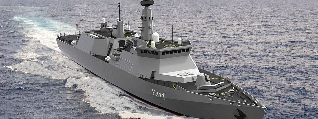 Navy for rapid warship construction