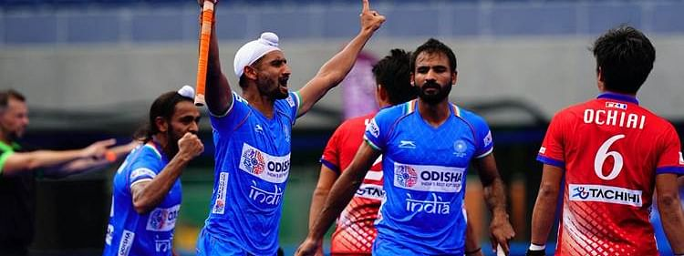 India beat Japan 6-3 to enter finals of Olympic Test Event