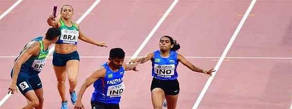 World Athletics: India mixed relay team secure Olympic berth