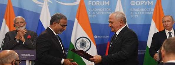 India, Russia sign strategy to boost trade