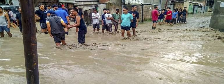 Flood-like situation in Kolhapur as Panchganga river in spate