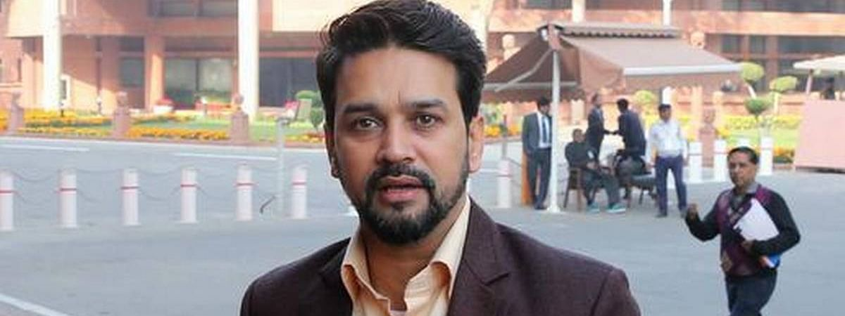 Indian economy is strong and in right hands, says Anurag Thakur