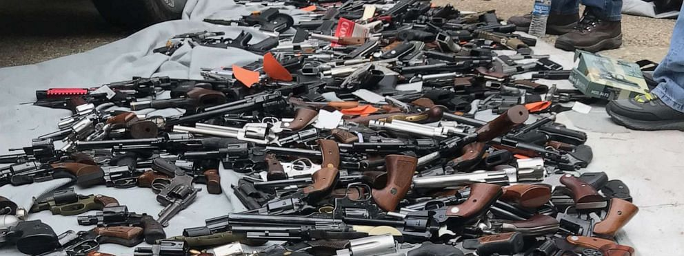 Illegal arms dealer arrested, 40 semi automatic pistols held