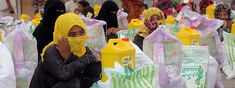 In Yemen, record 12.4 million food-insecure people receive food assistance