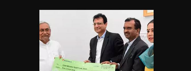 ICICI Bank donates Rs 5 crore to Chief Minister relief fund