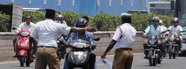 Motorcyclist fined Rs 5,000 for drunken drive in AP