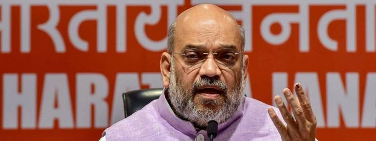 J&K curbs only in Oppn mind, says Amit Shah