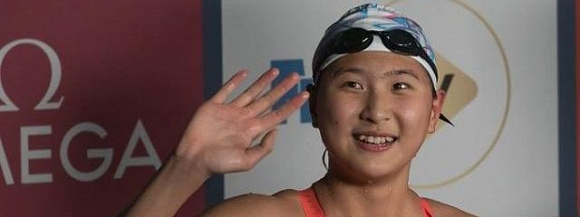 Wang Jiajiahe adds the 800m freestyle title to her collection in Anshan