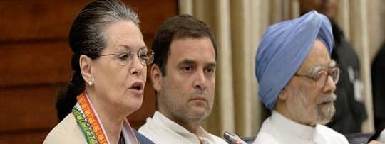 Sonia faces major party infighting