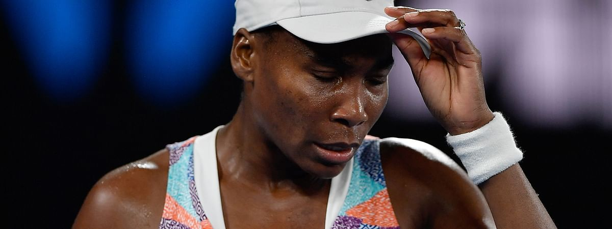 Wildcard Venus Williams crashes out in 1st round of Wuhan Open