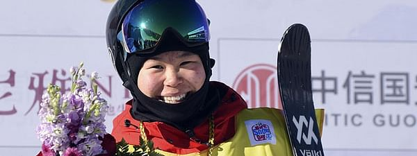 China's Zhang Kexin wins World Cup season opener