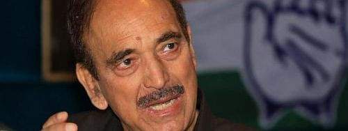 Situation 'very bad' in Kashmir, claims Azad