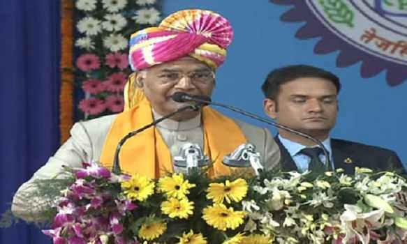 'Jharkhand is home to country's mineral reserves': President