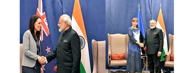 PM holds bilateral meetings with New Zealand PM, Estonian President