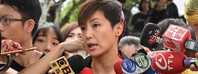 Singer Denise Ho attacked with paint in Taiwan
