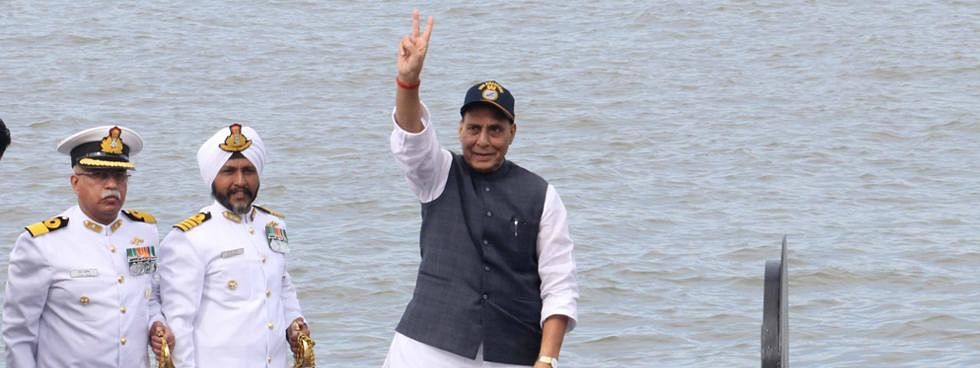 Govt committed to modernize Navy: Rajnath