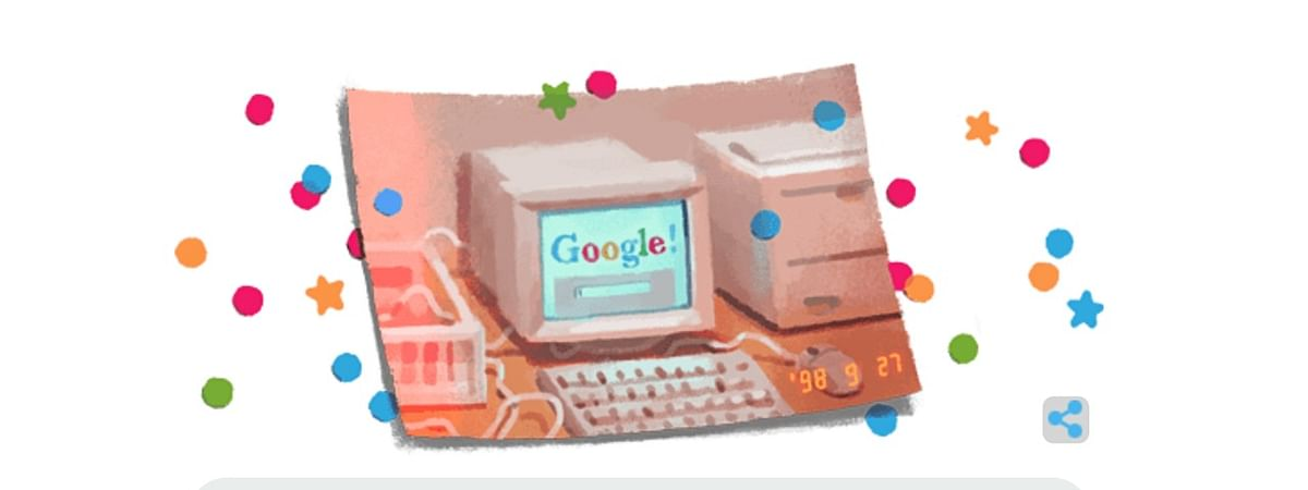 Search engine Google turns 21