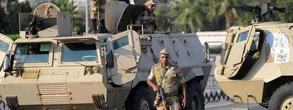 Egyptian forces kill 15 militants in north Sinai