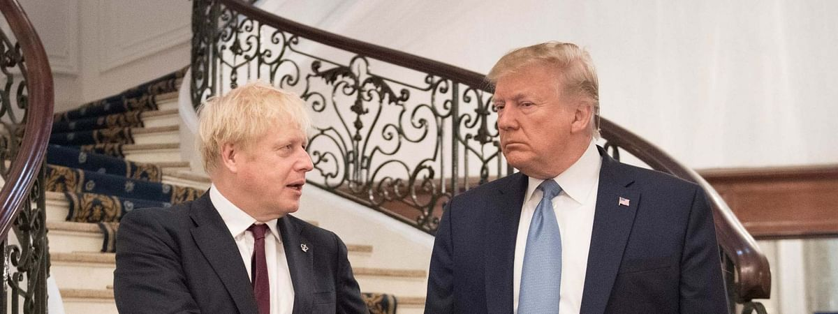 Johnson, Trump agree to strike bilateral trade deal by July 2020