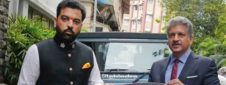 Udaipur prince gets 'Thar 700' as a gift from Anand Mahindra