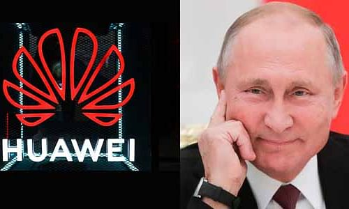 Russia's red carpet welcome to Huawei 5G