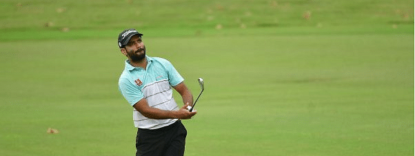 Abhinav Lohan shoots seven straight birdies for first round lead at Jaipur Open