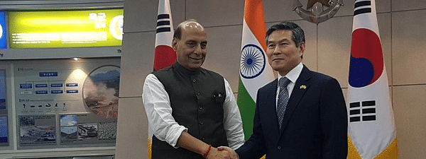 Rajnath Singh invites South Korean Defence manufacturing companies to invest in India