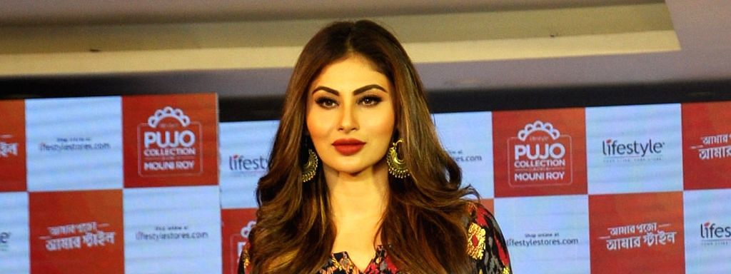 Actress and style icon Mouni Roy launches Lifestyle's Pujo Collection