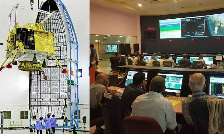 ISRO receives setback as it loses contact with Chandrayaan-2 lander