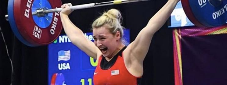 Athletes of U.S., Armenia win golds  at weightlifting worlds