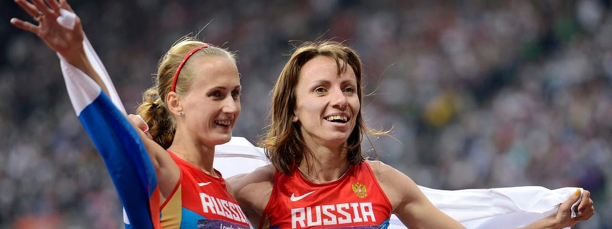 Russian athletes still compete as neutral in Doha