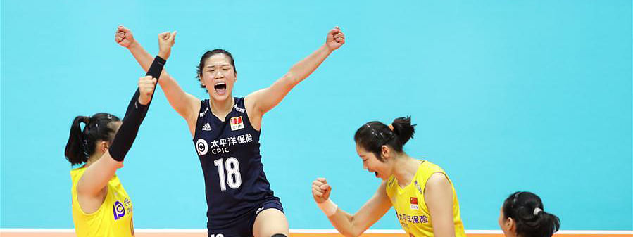 China ease past USA at Volleyball Women's World Cup