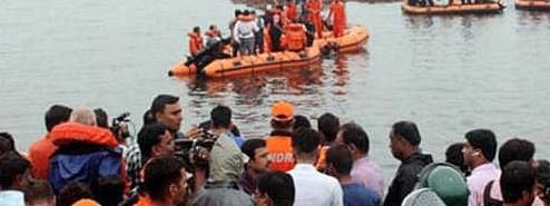 Tourist Boat capsizes in Godavari ; over 35 feared drowned