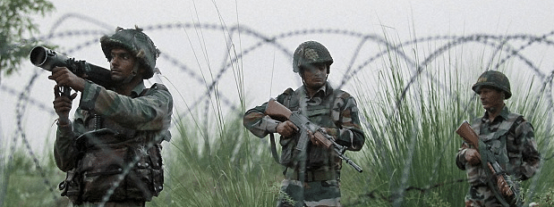 Pakistan violates truce on LoC in KG sector of Poonch