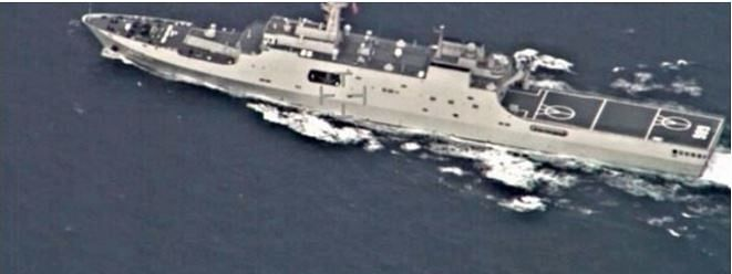 Navy planes track Chinese warship in Sri Lankan waters