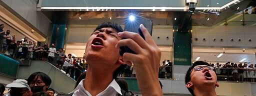 A song turns up the heat on Hong Kong protests…