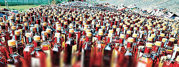 Huge consignment of foreign liquor seized in 'dry' Bihar, seven nabbed