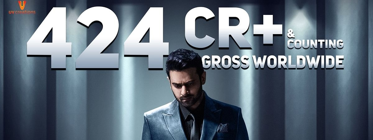 Unstoppable Saaho Mints Rs 424 Cr Worldwide