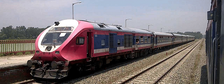 Rly services plying normally in Jammu but suspended in Kashmir valley since Aug 5 : DRM