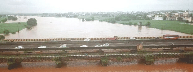 Relief as Panchganga river recedes in Kolhapur