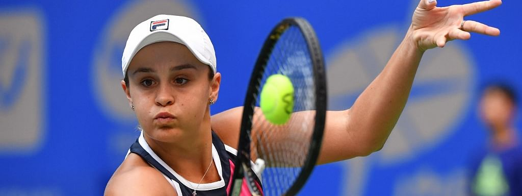 Top seed Barty ready to play China Open after calf problem