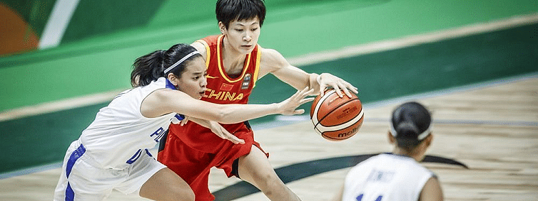 China overwhelm the Philippines in FIBA Women's Asia Cup