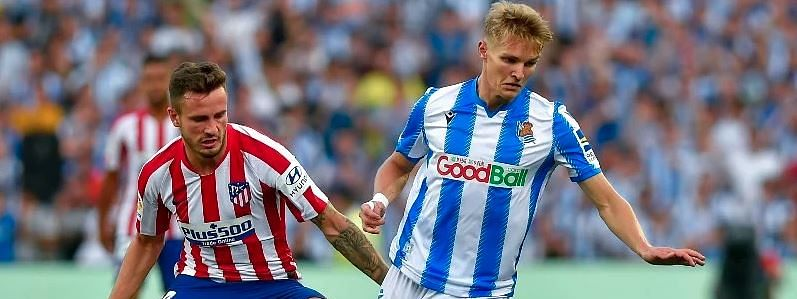 Real Sociedad win 3-0 to move second in Spain