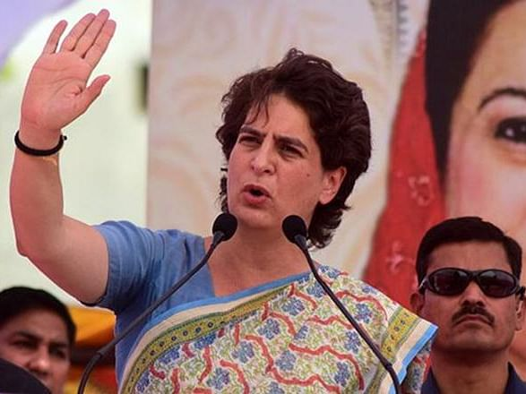 Priyanka lashes out at Yogi Govt for inaction against scamsters
