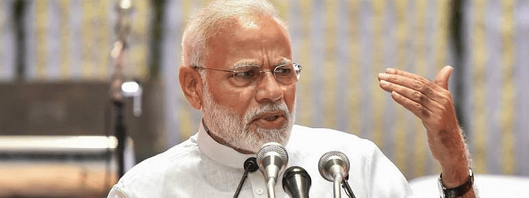 Modi sees US as 'enabler' for India in Eco. growth and security