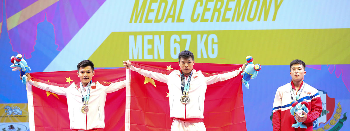 China continues to sweep 2019 weightlifting worlds