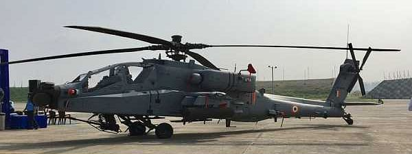 Indian Air Force formally inducts 8 Apache choppers